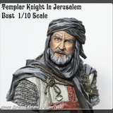 Templar Knight In Jerusalem