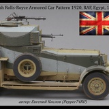 Rolls-Royce Armored Car Pattern 1920